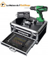 Hitachi  KC18DJLF - Perceuse visseuse Hitachi 18V 2,5Ah Li-Ion