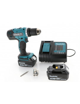 Makita DDF453SFE - Perceuse visseuse Makita 18V 3Ah Li-Ion