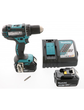 Makita DDF482RMJ - Perceuse visseuse Makita 18V 4Ah Li-Ion