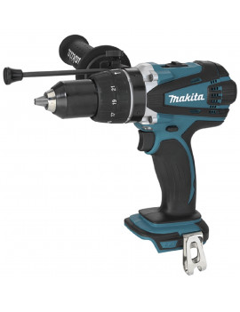 Makita DHP458Z - Perceuse visseuse a percussion Makita 18V Li-Ion  4 Ah