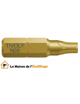 Tivoly 11522524000 - Embout Tivoly extra dur torsion N40 Torx 25mm