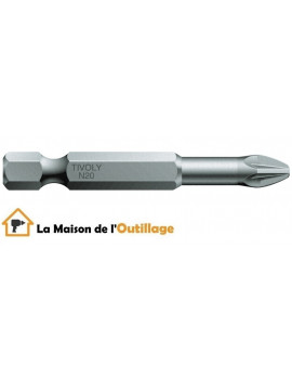 Tivoly 11520720200 - Embout Tivoly torsion N2 50mm