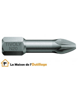 Tivoly 11520320001 - Embouts Tivoly torsion N1-2-3 Philips 25mm