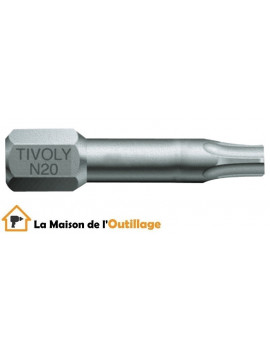 Tivoly 11520520001 - Embouts Tivoly torsion N20-25-30 Torx 25mm