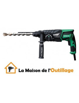Hitachi DH26PC - Perforateur burineur Hitachi SDS Plus 26mm 830W