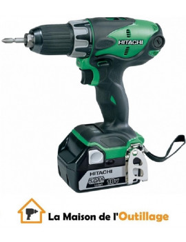 Hitachi DS18DBEL5AX3 - Perceuse visseuse Hitachi 18V 5Ah Li-Ion
