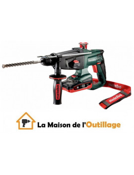 Metabo KHA 18 LTX - Perforateur burineur Metabo 18V 3.1 Ah