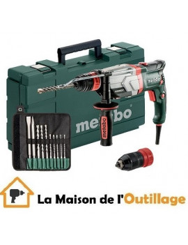 Metabo UHEV 2860-2 - Perforateur burineur Metabo Quick Set 1100W