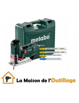 Metabo STE 100 Quick Set - Scie sauteuse Metabo 710 W + 20 lames
