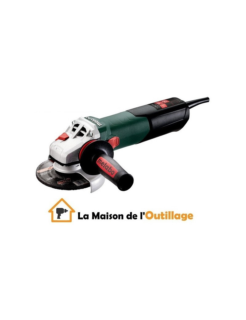 Metabo W 12-125 Quick - Meuleuse disqueuse Metabo 1250W