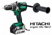 Hitachi - Perceuse à percussion sans fil